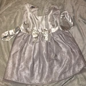 Grey Child Dress